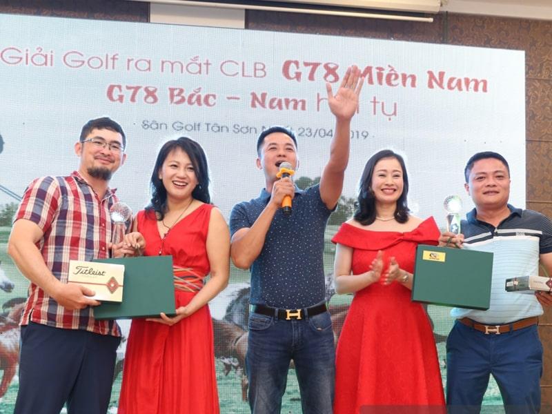2 giải nhất CLB golf G78 miền Nam