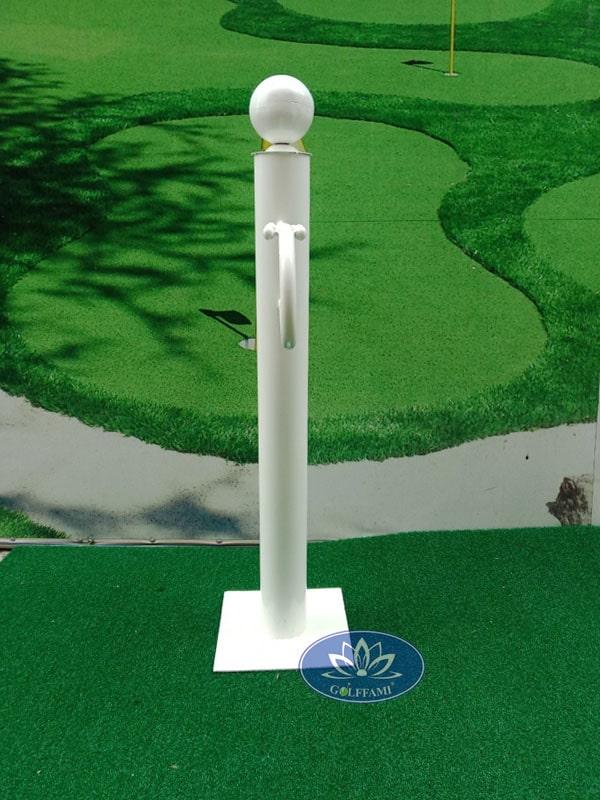 Giá để gậy golf màu trắng Gomiga4 kích thước nhỏ gọn