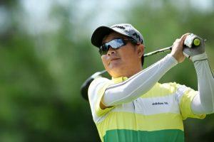 Golfer Nguyễn Văn Chung luôn giữ vững phong độ thi đấu