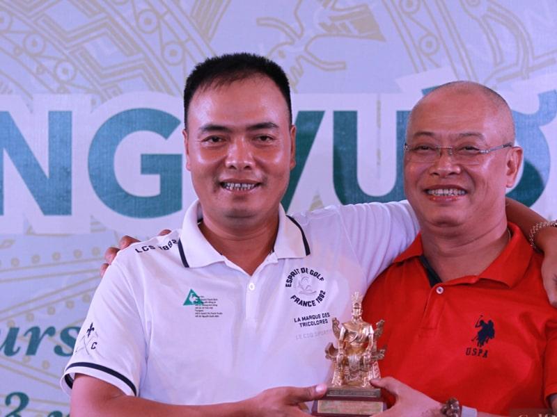 Nguyễn Văn Chung hạnh phúc khi giành chiến thắng tại quê nhà