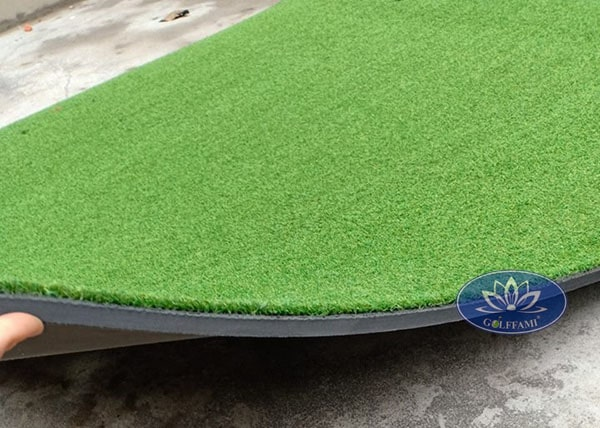 Thảm tập golf đế cao su gomit18 chất lượng cao