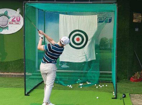 Khung lưới tập golf Gomik52 chất lượng cao