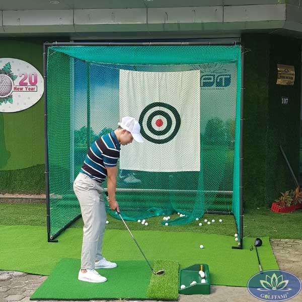 Khung lưới tập golf Gomik52 giá rẻ