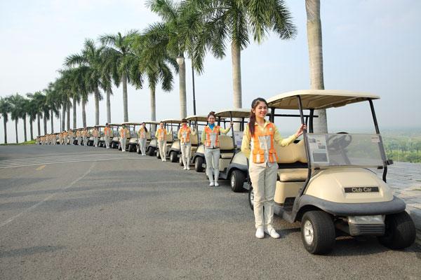dịch vụ tại sân golf long thành