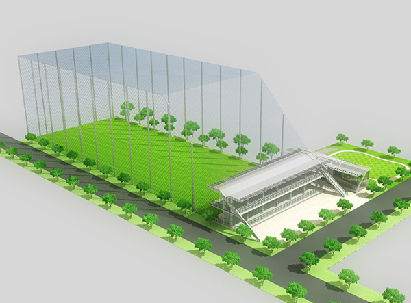 mô hình thiết kế sân tập golf phổ biến nhất