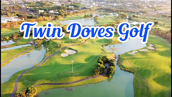 sân golf twin doves