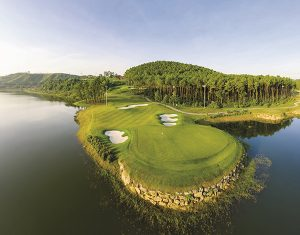 sân golf tràng an