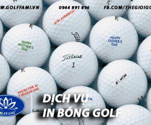in bóng golf