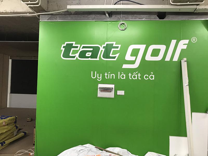 thi công lắp đặt chuỗi phòng golf 3D TAT Golf