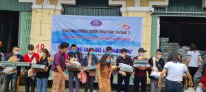 chương trình thiện nguyện tháng 7 tại tỉnh hà giang