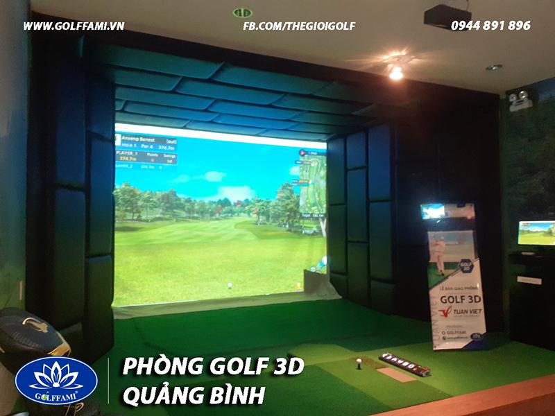 Phòng golf 3d Quảng Bình