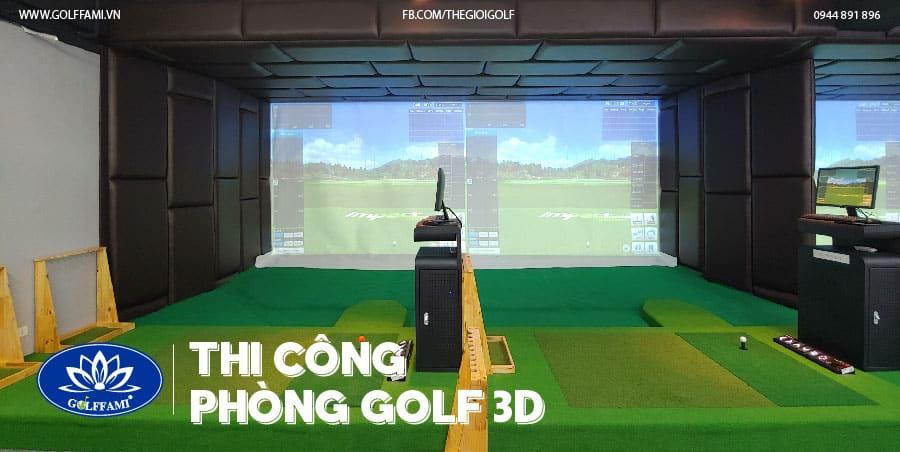 chuỗi phòng golf 3D - TAT Golf Trần Thái Tông