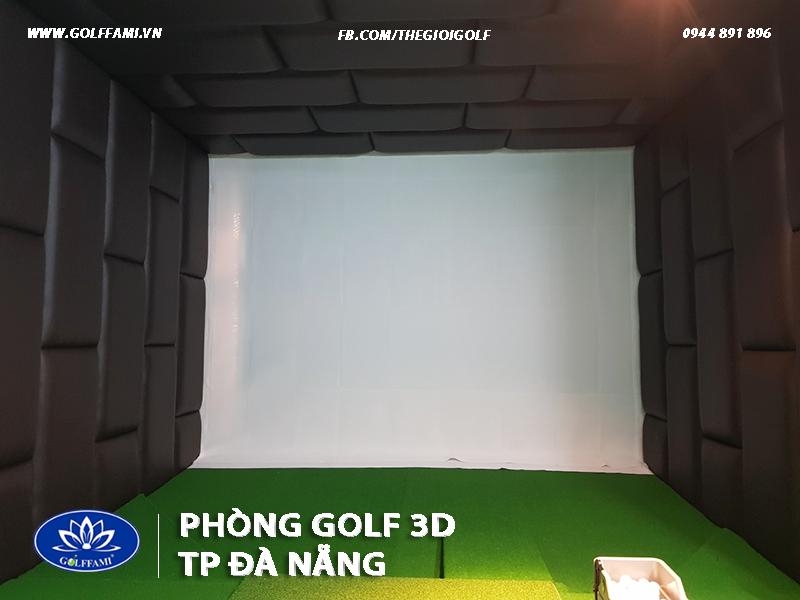 Lắp đặt 2 phòng tập golf 3d tại Đà Nẵng