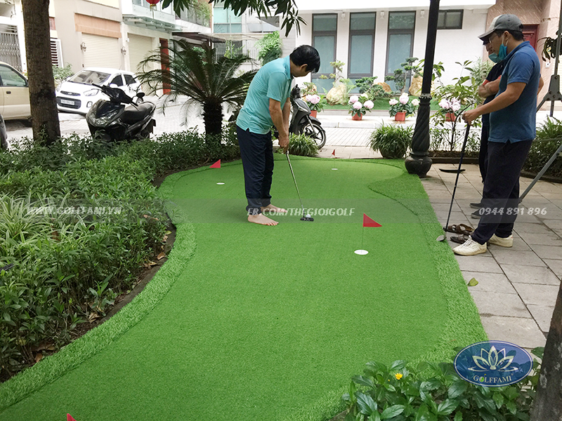 Green golf Nguyễn Chí Thanh