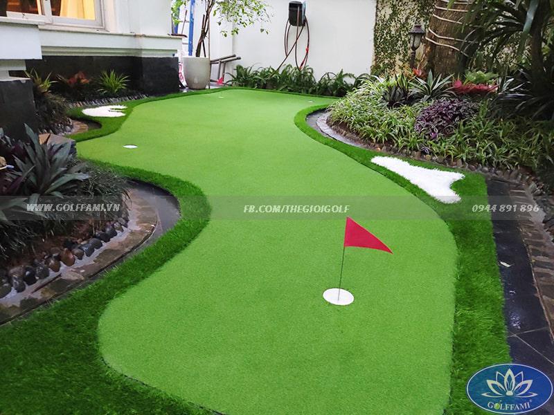 Green golf tại VinhomRiver Long biên Hà Nội