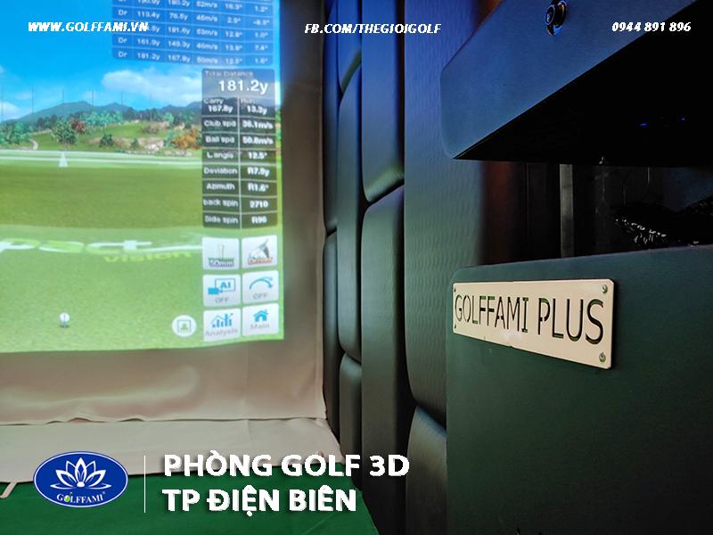 phòng golf 3d Thành Phố Điện Biên