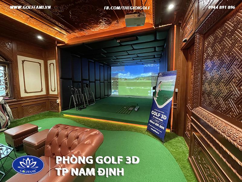 phòng golf 3d tại thành phố Nam Định