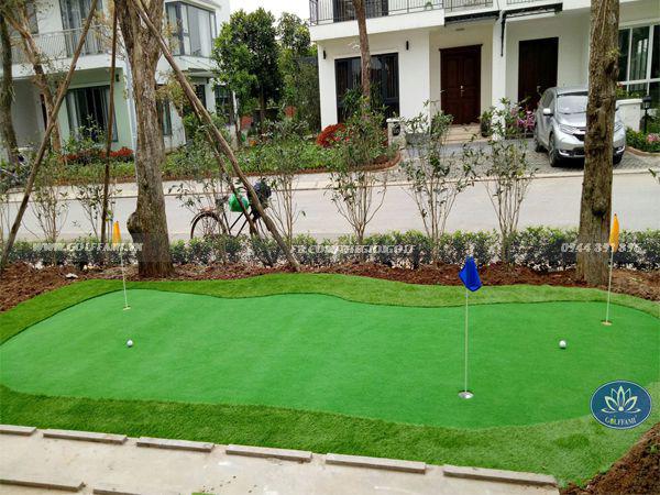 Green golf ecopark tại nhà