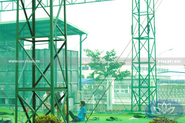 sân tập golf tại dự án khu chung cư FAMILLE Hà Nam
