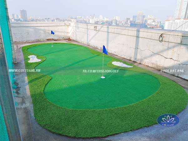 sân tập golf Kim Mã Ba Đình Hà Nội