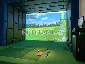 ưu điểm của phòng golf tập 3D