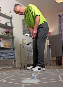luyện tập putting golf tại nhà