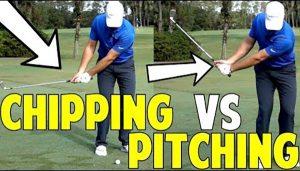 Sự khác nhau giữa Pitching golf và Chipping golf