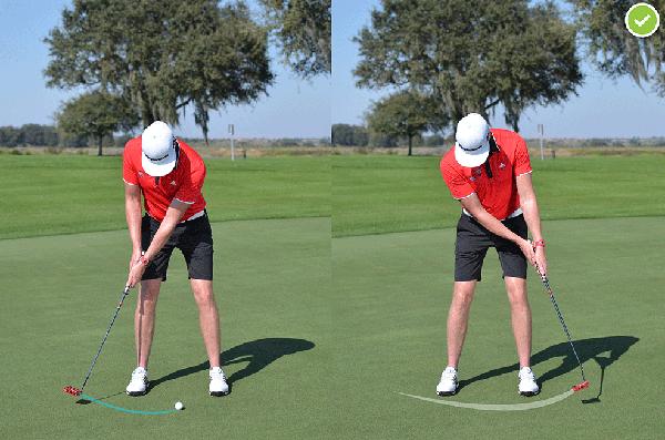 putting golf